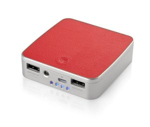 Power bank HIDE 7800mAh czerwony