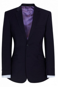 Brook Taverner Marynarka męska, AVALINO o kroju Navy Tailored fit jacket