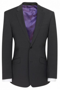Brook Taverner Marynarka męska, AVALINO o kroju Charcoal Tailored fit jacket