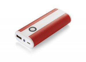 Power bank REMOTE 5200mAh czerwone